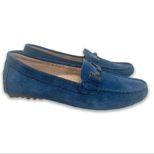 Tods Exact look a like Blue Suede Driving Loafers